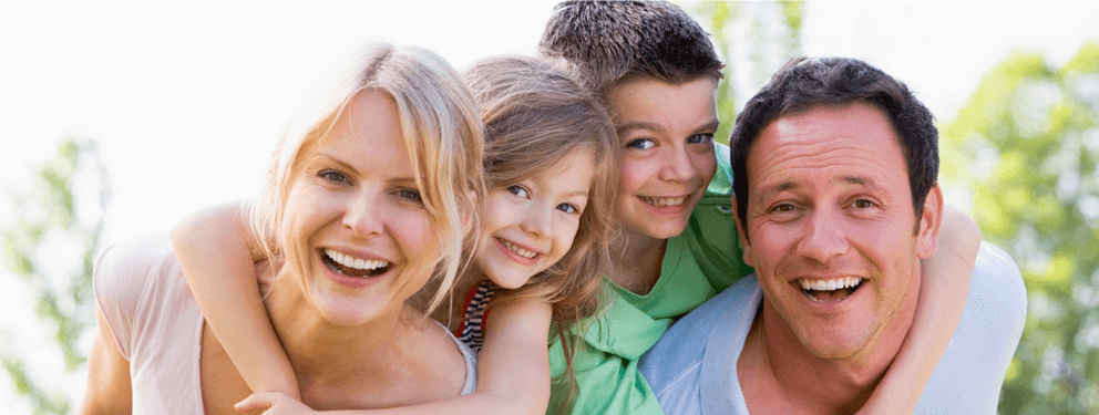 happy family - homepage banner